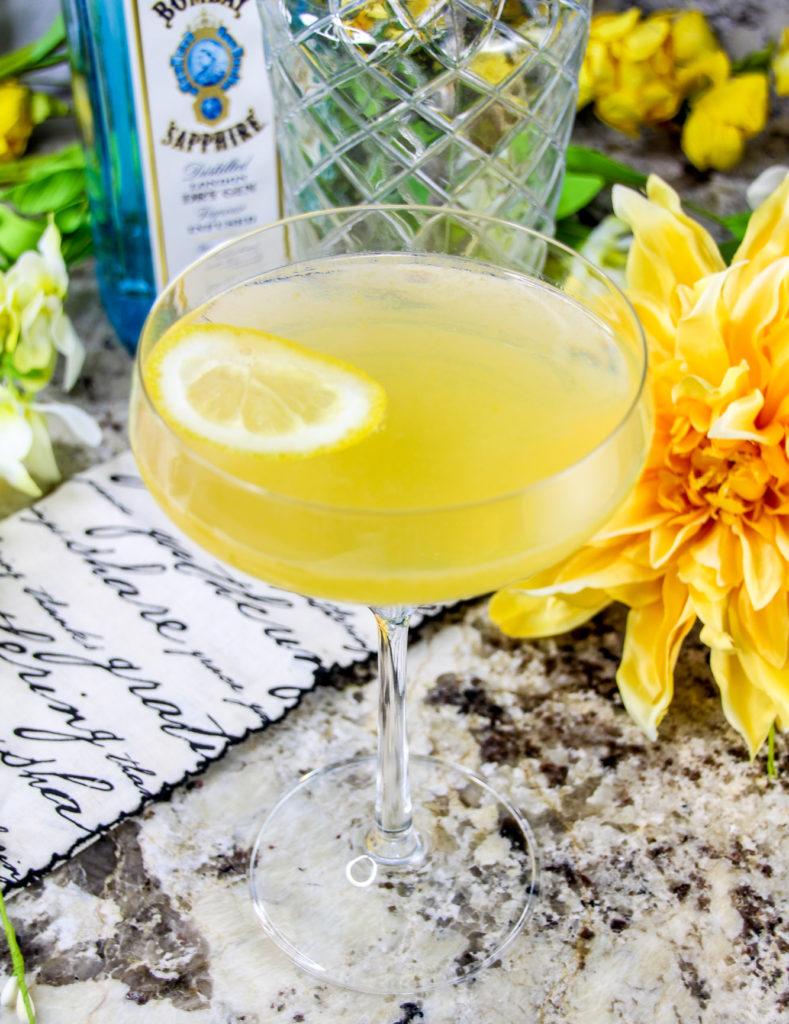 Double Lemon Drop Martini