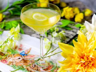 Double Lemon Martini Drop