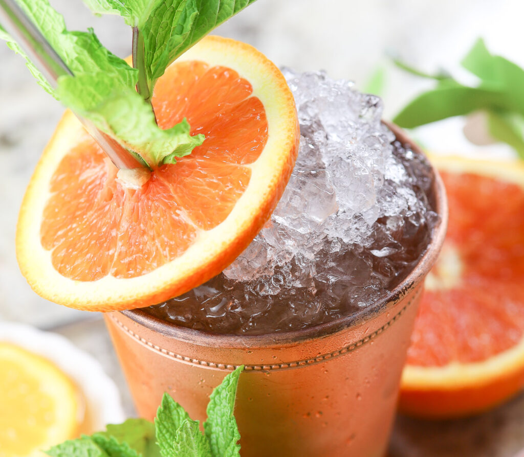 Orange Mint Julep Recipe