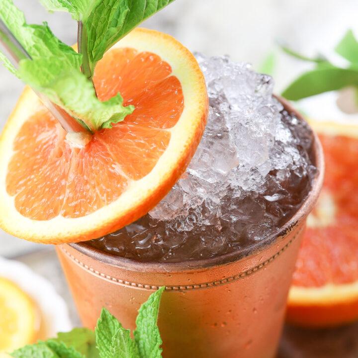 Orange Mint Julep Recipe