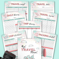 Free Printable Travel Planner