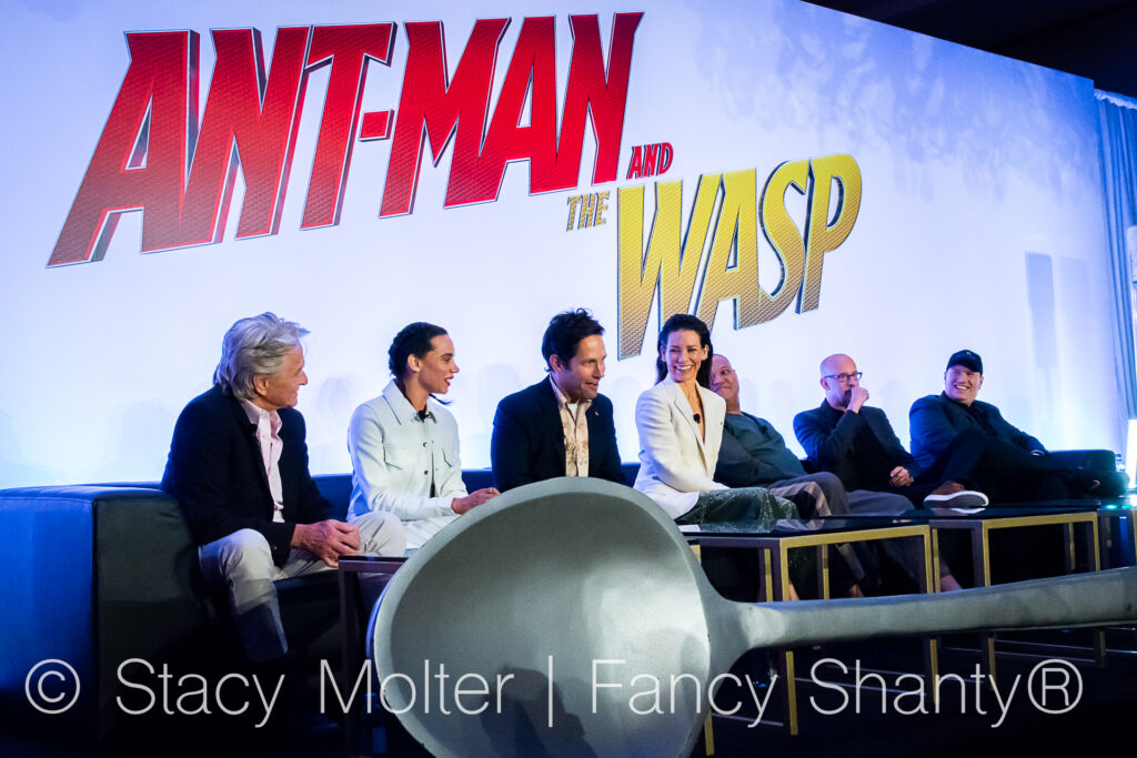 Evangeline Lilly's Message to Kids - Ant-Man and the Wasp Press Conference 1