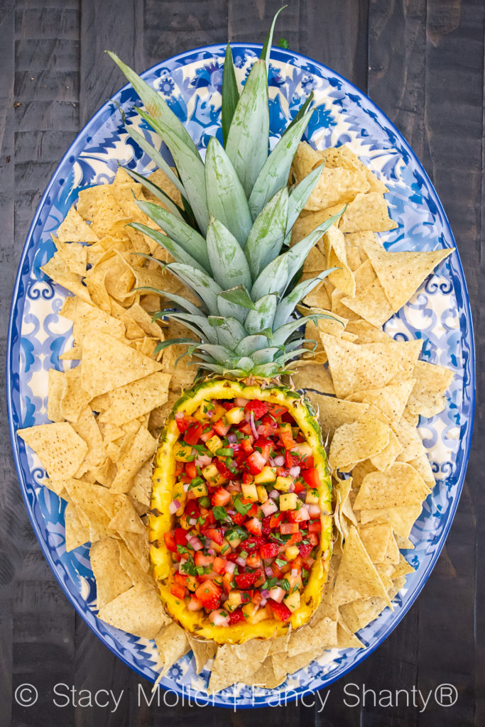 This strawberry pineapple salsa recipe combines sweet fruits and spicy jalapeno to create a flavor that pairs perfectly with grilled chicken or fish. Bonus, this recipe can even be severed as an appetizer with your favorite chips.