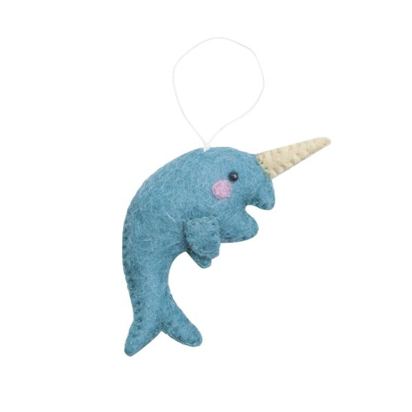 Narwhal Arctic Animal Ornament