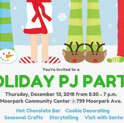 Holiday PJ Party