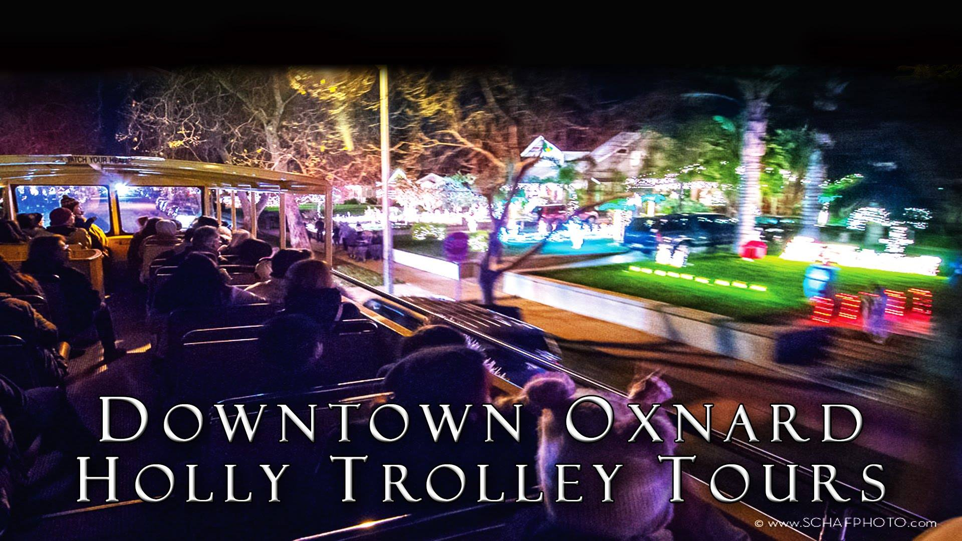 Downtown Oxnard Holly Trolley Tours