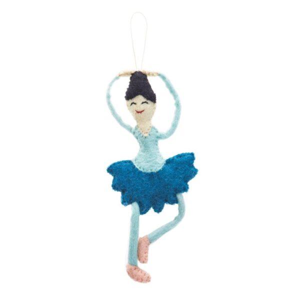 Felt Ballerina Ornament