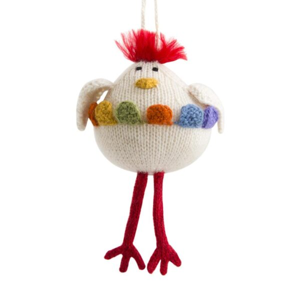 Alpaca Chicken Ornament