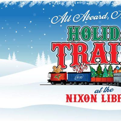 Holiday Trains at the Nixon Library
