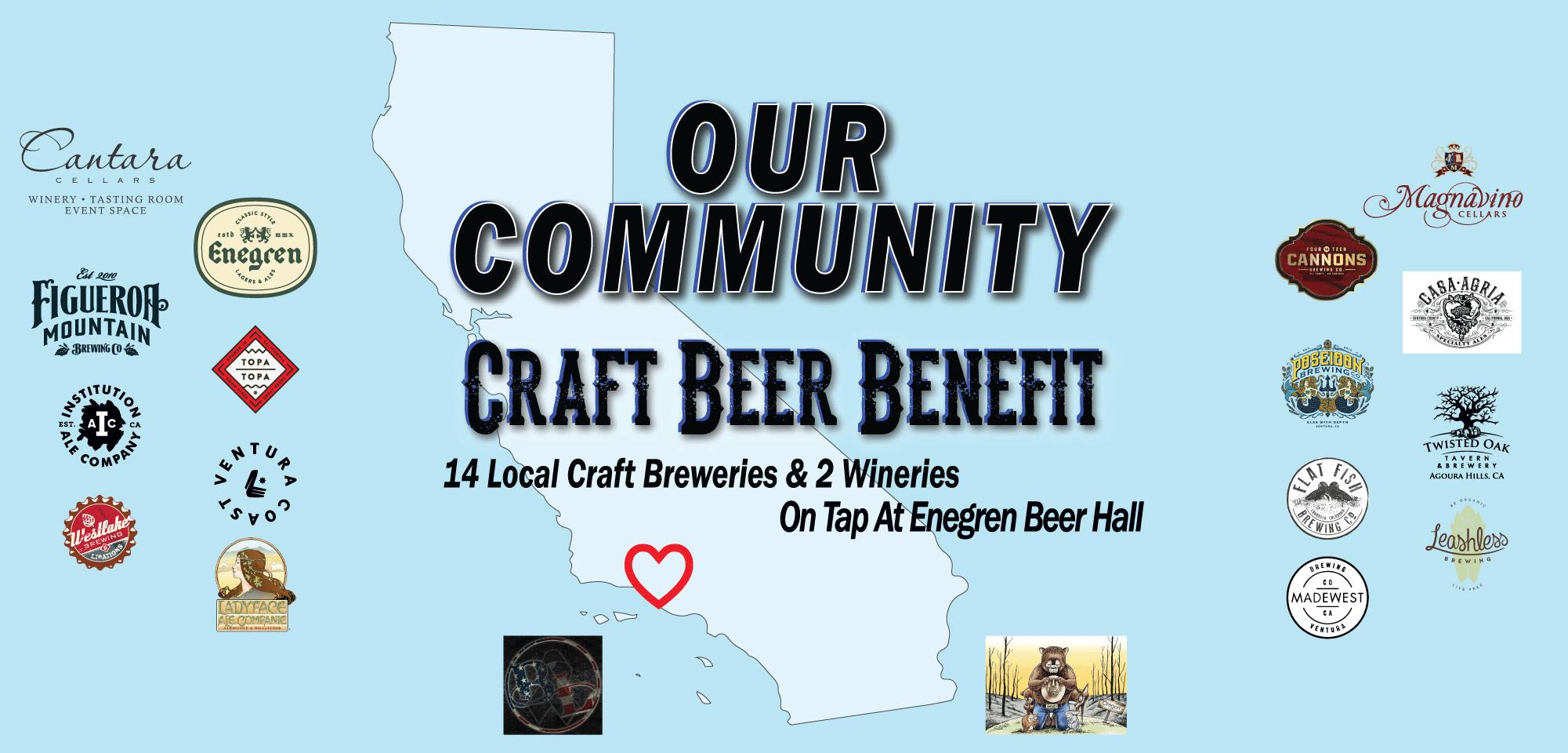 Our Community Craft Beer And Wine Benefit
