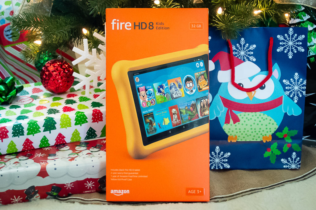Keeping Holiday Traditions with Amazon FreeTime Unlimited on the Fire HD 8 Kids Edition
