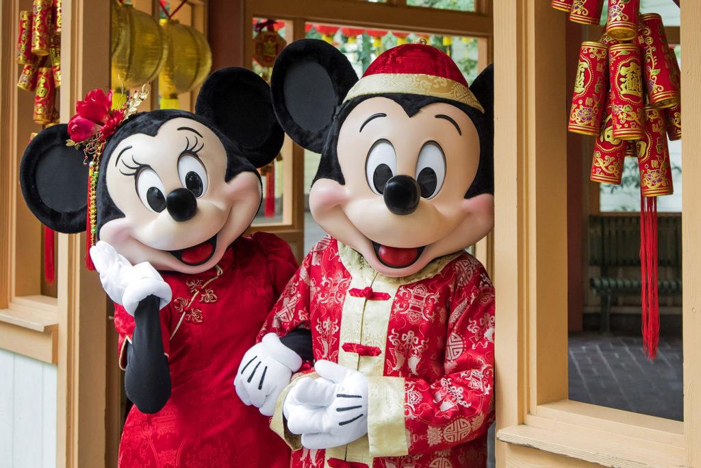 Disneyland Resort Celebrates Lunar New Year with a Touch of Disney Magic