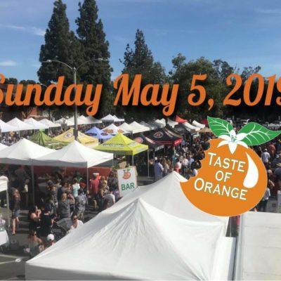 Taste of Orange – Premier Tasting Event in Old Towne Orange
