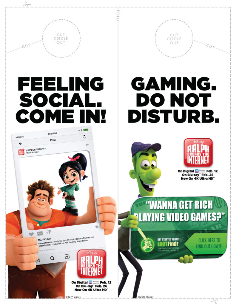 Ralph Breaks the Internet Activity Sheets