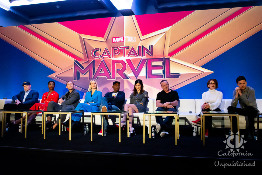 Captain Marvel Press Conference - How Indie Filmmakers Brought Friendship and 90's Nostalgia to the Big Screen