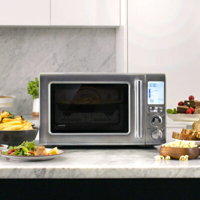 Get Crunchy at Home with an Air Fryer Microwave Oven