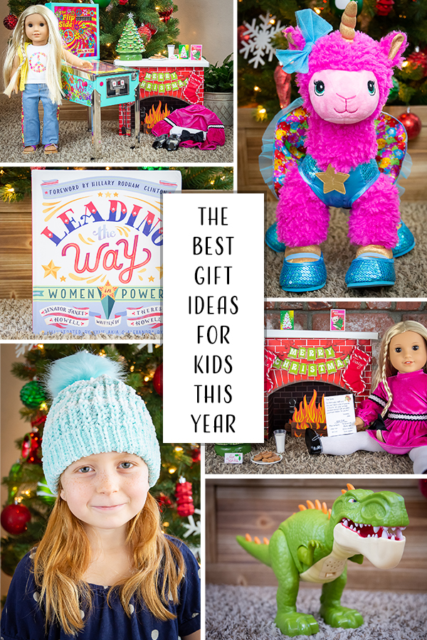 Christmas is around the corner which means it's time for our annual gift guide, Christmas Gift Ideas for Kids. This year, we're featuring some of our favorite brands, from American Girl to Build-A-Bear, to help you discover this year's top gifts and choose the best gift for every kids on your list.