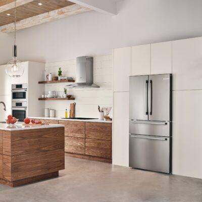 Bosch Counter-Depth Refrigerators - Smart Home Technology for Family Entertaining