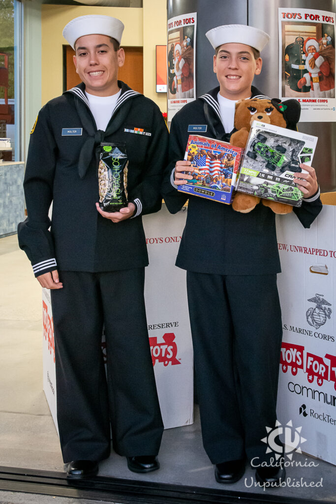 Malibu Navy League Toys for Tots Event