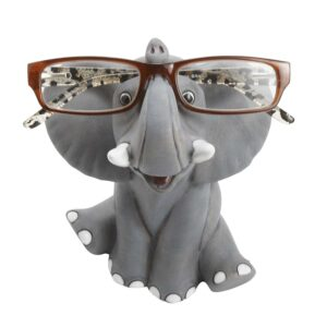 Whimsical Happy Elephant Eyeglass Holder
