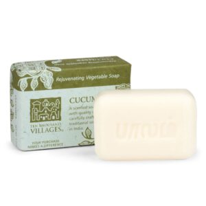Handcrafted Cucumber Scented Vegetable Soap