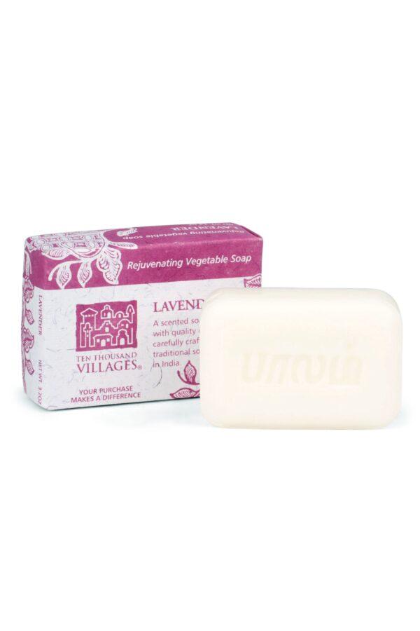 Handmade Lavender Scented Vegetable Soap