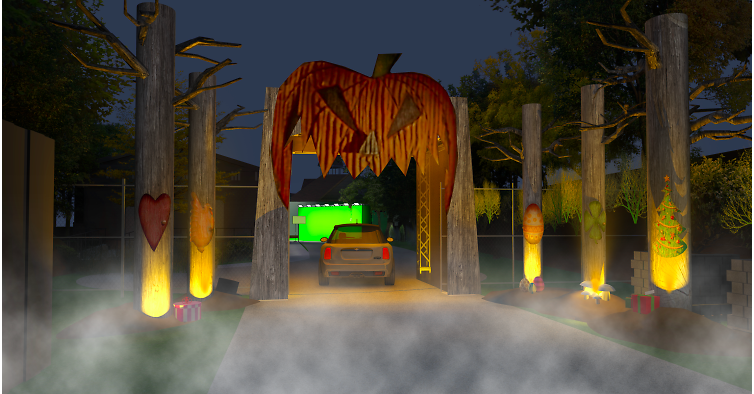"""Freeform will kick the Halloween season off with it's FREE """"Freeform Halloween Road,"""" a socially distant drive-thru experience for the Halloween lovers in the Los Angeles area."""