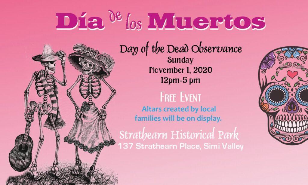 Dia de los Muertos Observance at Strathearn Park