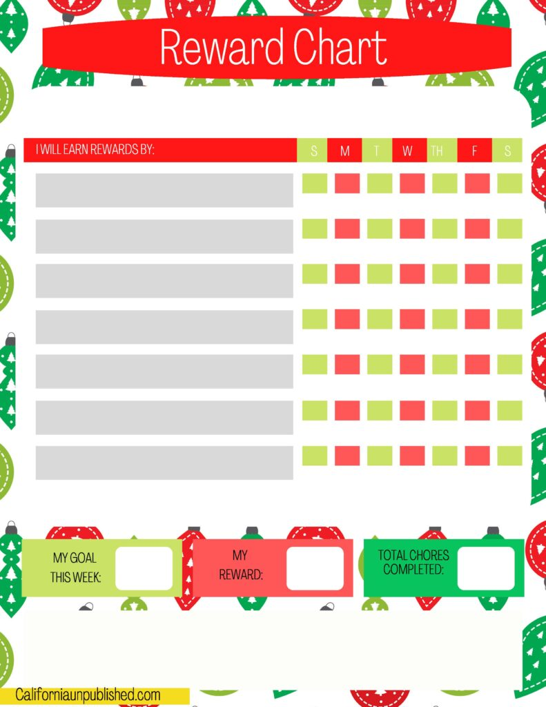Free Printable Elf on the Shelf Planner