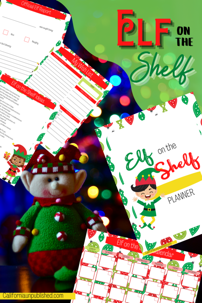 What if you never had to scrounge Pinterest for new Elf on the Shelf ideas? What if you didn't have to try to come up with a reason why the elf didn't move, again? With this free printable Elf on the Shelf planner, you don't.