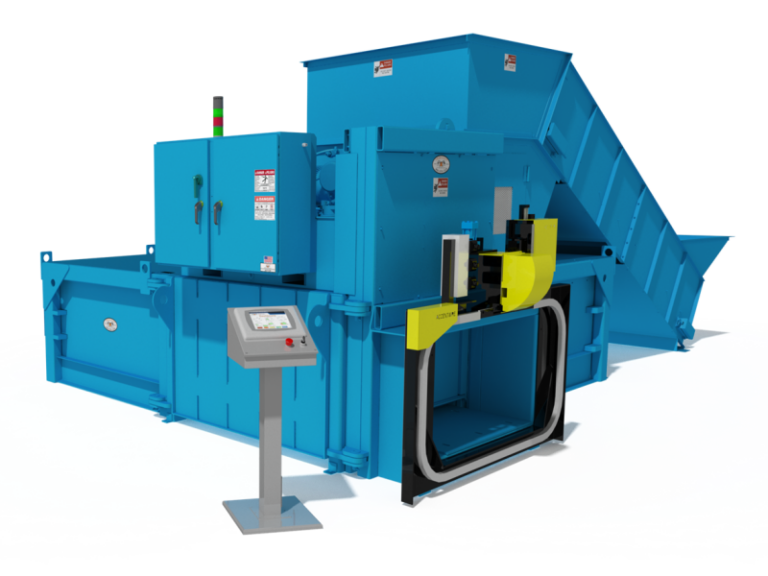 H2R-60 Auto Tie Baler with Conveyor and Left Hand Eject