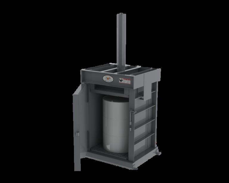 DD-30 Drum Crusher (Power Unit & Controls not shown)