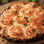 Crispy Cauliflower Crust Pizza