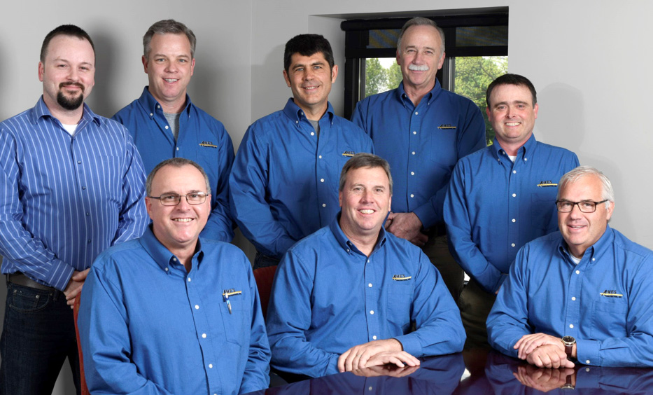 The Ames Construction Leadership Team