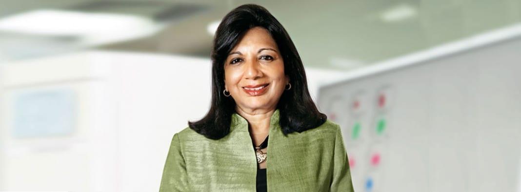Dr. Kiran Mazumdar-Shaw