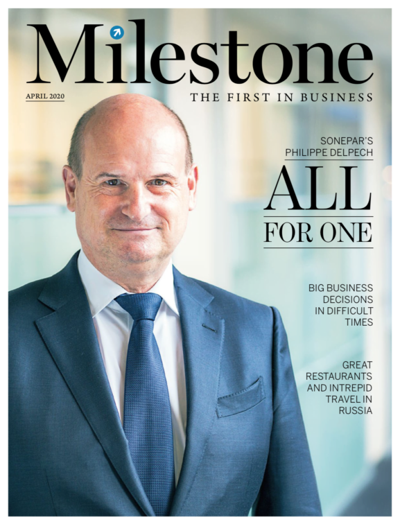 Milestone Magazine Front cover 2020
