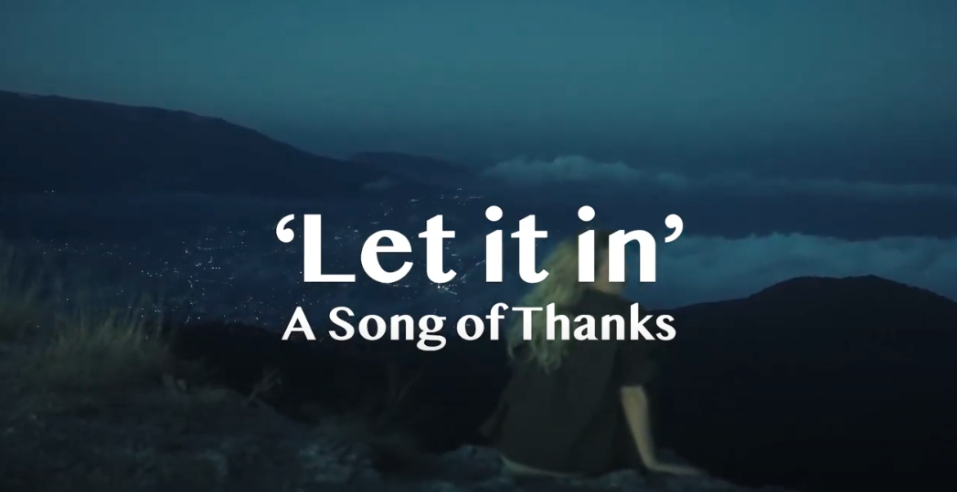 Elfin Bow Shares Let it in… A Song of Thanks
