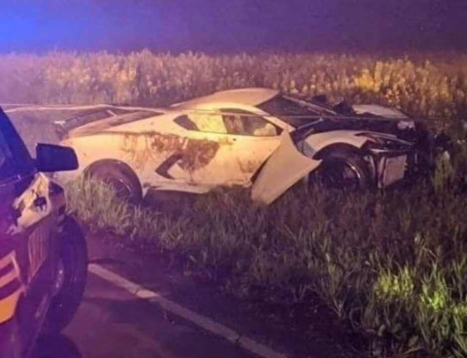 [ACCIDENT] 2020 Corvette with RARE option found totaled on ...