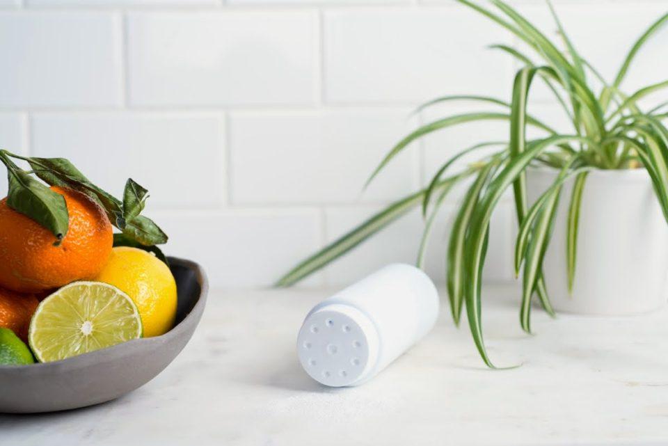 DIY Lemon Scouring Powder