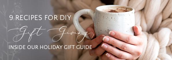 Recipes for DIY Gift Giving | Kolya Naturals, Canada