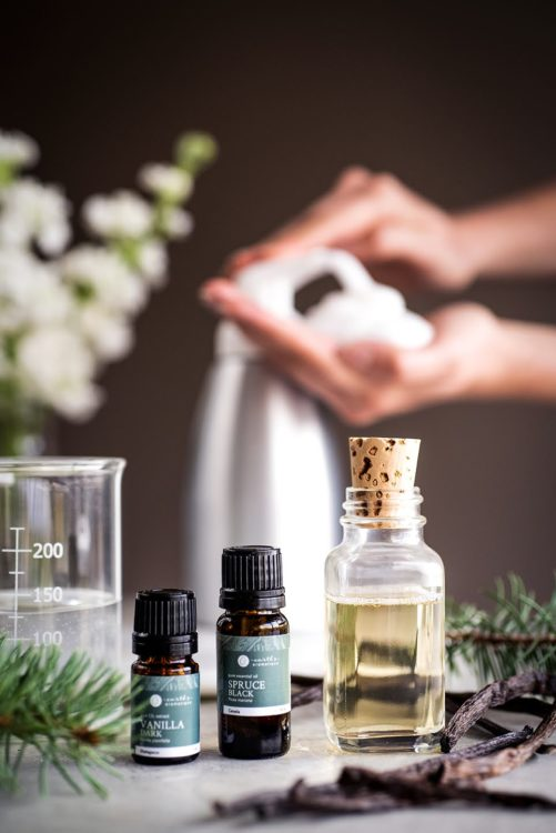 Black Spruce & Vanilla Foaming Hand Soap | Kolya Naturals, Canada