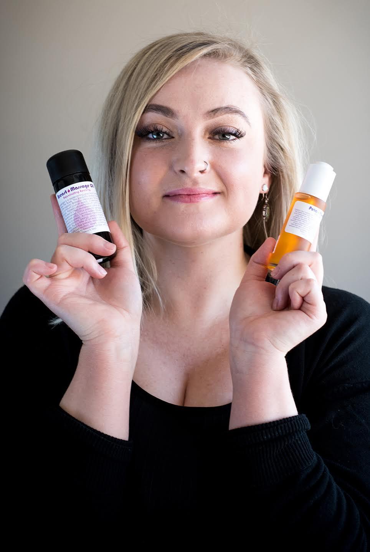 Living Libations Breast Massage Oil, Petal Passion Serum | Kolya Naturals, Canada