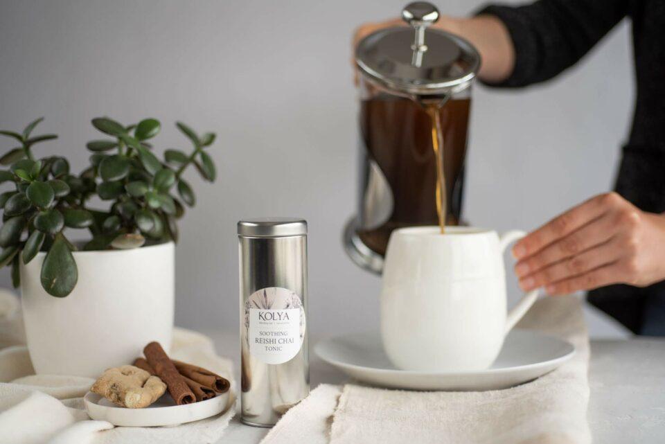 Soothing Reishi Chai Tonic | Kolya Naturals, Canada