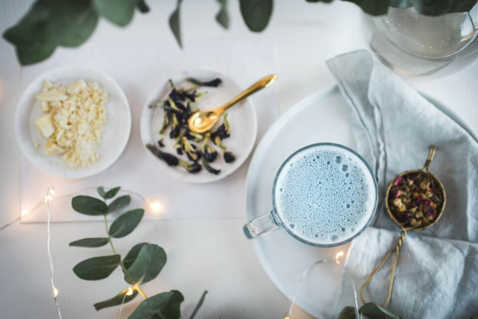 Goodnight Moon Blue Hot Chocolate | Kolya Naturals, Canada