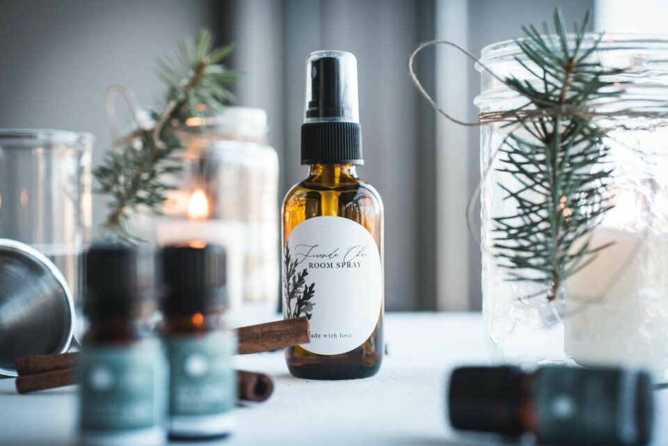 Fireside Chai Essential Oil Room Spray | Kolya Naturals, Canada