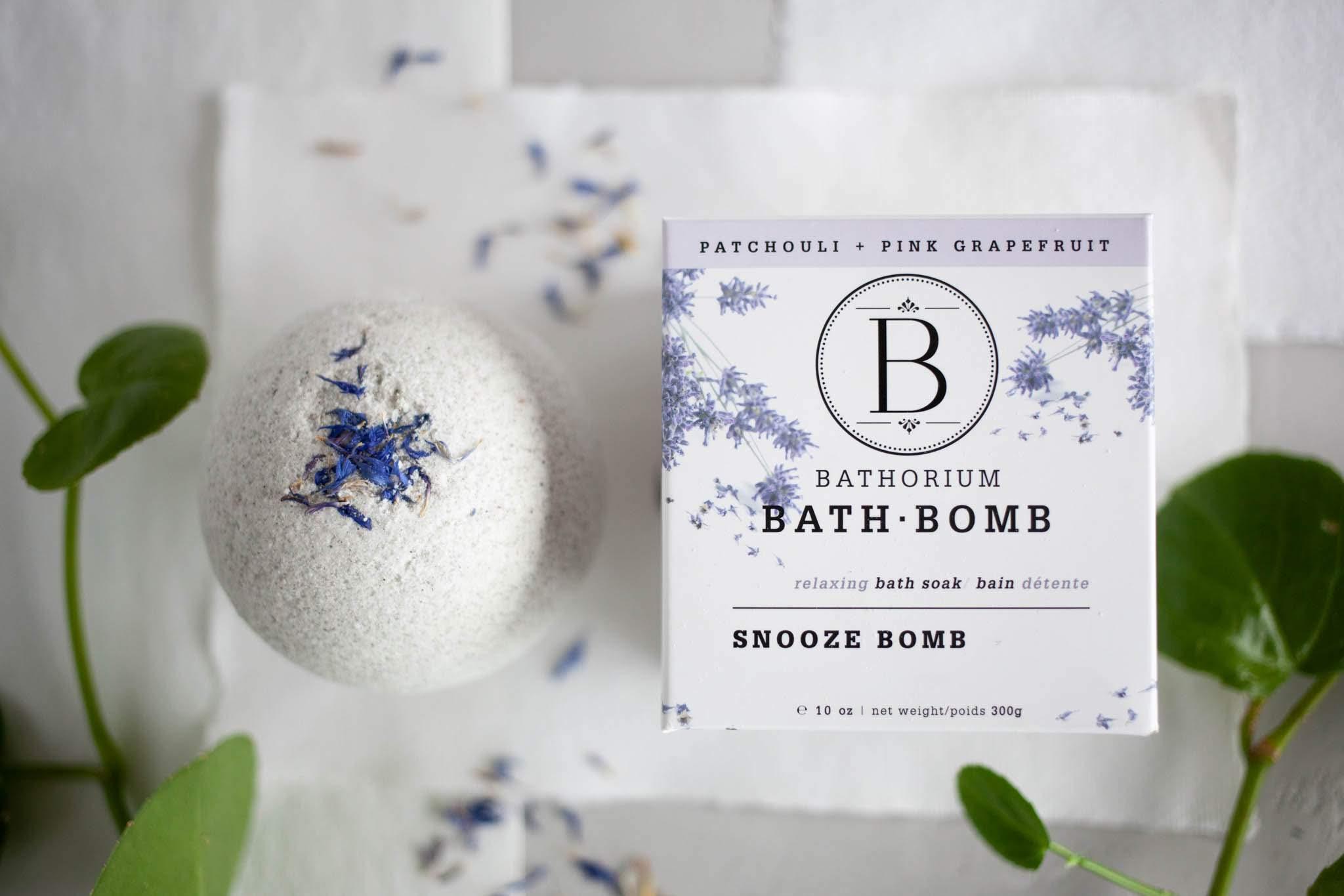 Bathorium Snooze Bomb Bath Soak | Kolya Naturals, Canada