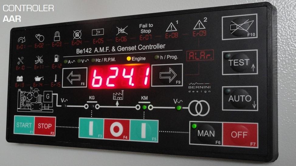 Automatizarea grupurilor electrogene Controler AAR