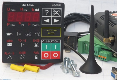 KIT TELECONTROLLO GSM MOTOPOMPE E MOTORI DIESEL Be1