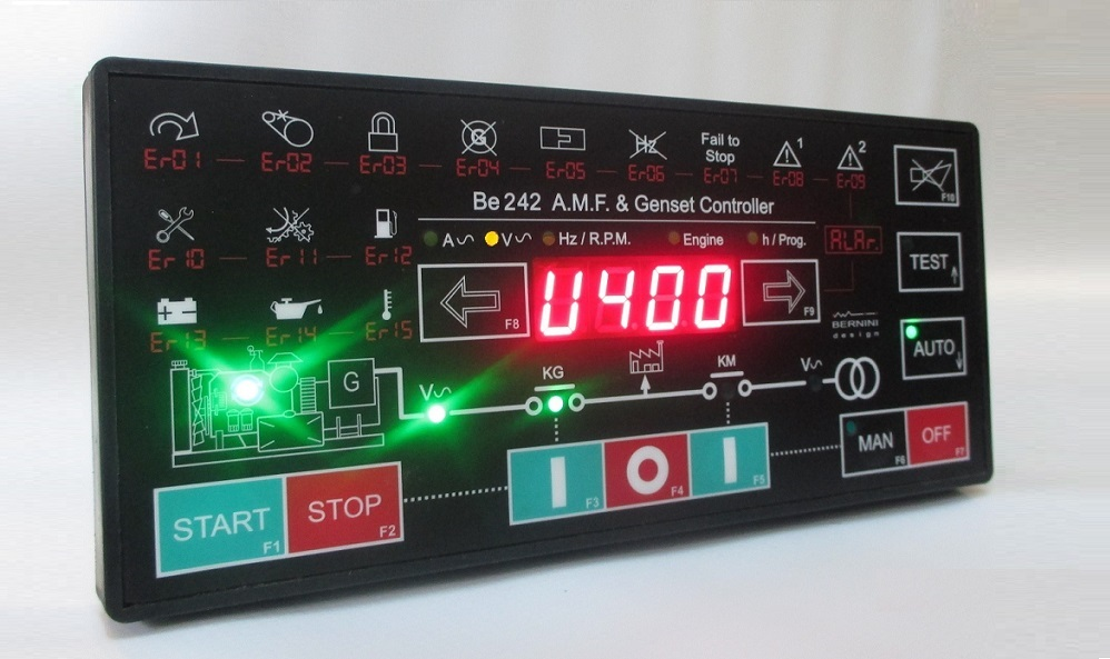 Be242 TRI-PHASE AMF Wireless Controller