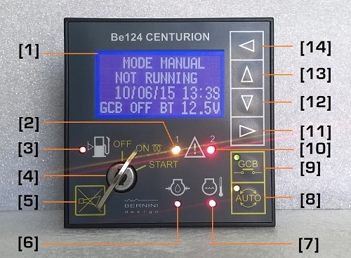 What does a generator control unit do